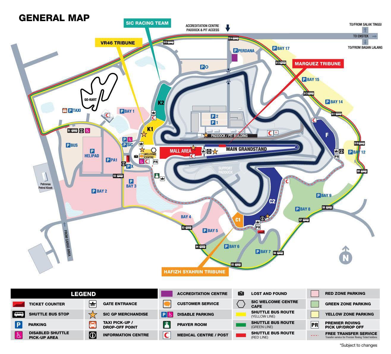 TICKETS MOTOGP MALAYSIA 2019