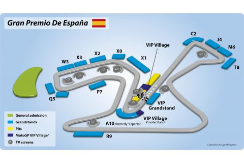 Trips to the MotoGP Spain | Jerez 2019 incl Tickets, VIP Village & Hotel